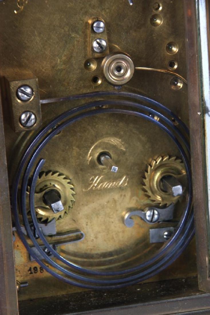 Brass Carriage Clock In Case - 6