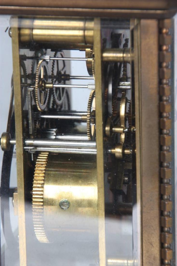 Brass Carriage Clock In Case - 7