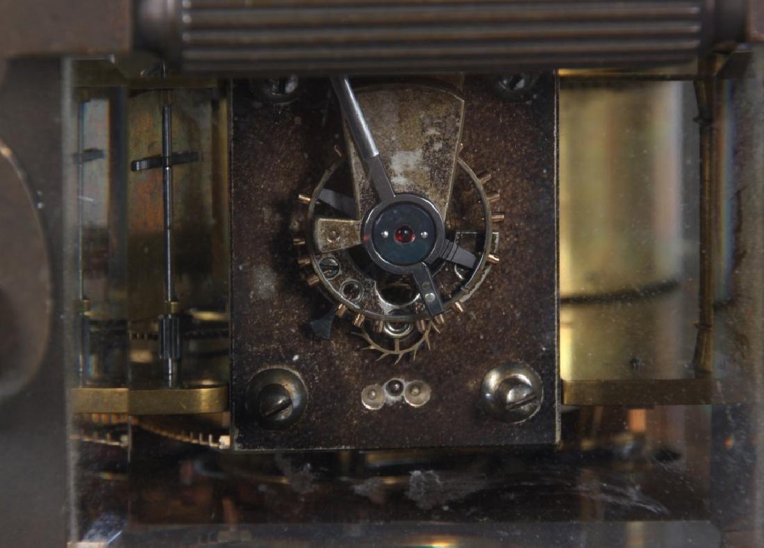 Brass Carriage Clock In Case - 9