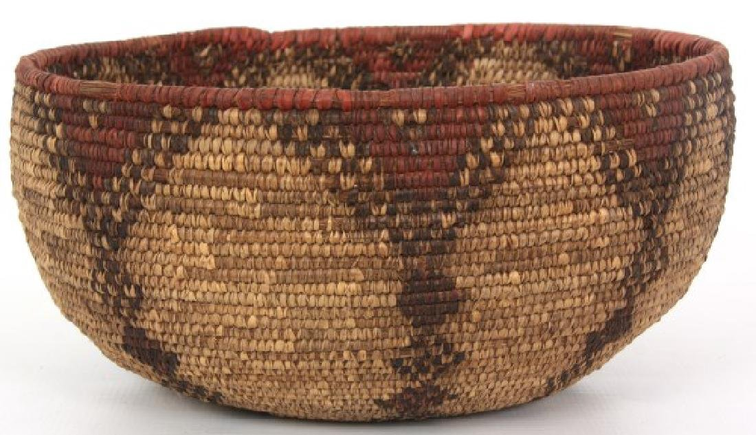 Indian Hand Woven Coil Basket & Pouch - 3
