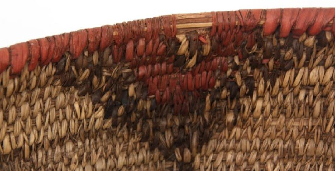 Indian Hand Woven Coil Basket & Pouch - 4