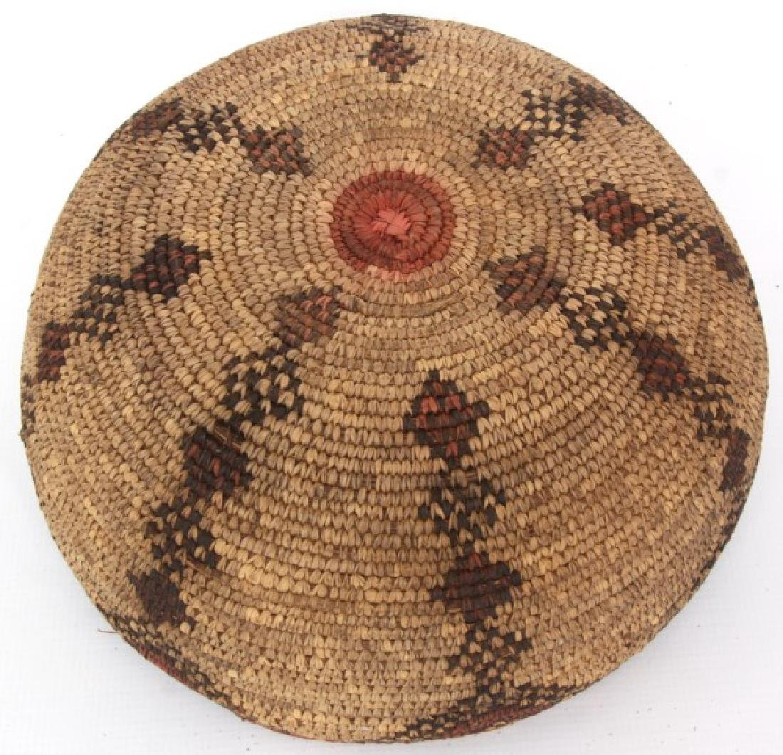 Indian Hand Woven Coil Basket & Pouch - 5