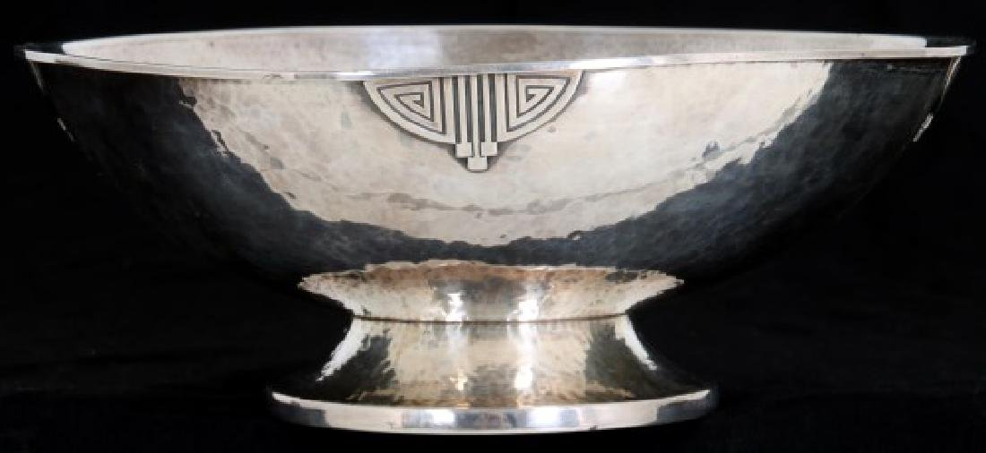 Wallace Arts & Crafts Sterling Silver Footed Bowl