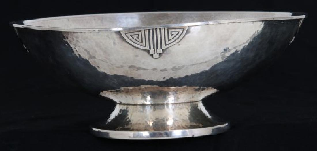 Wallace Arts & Crafts Sterling Silver Footed Bowl - 2