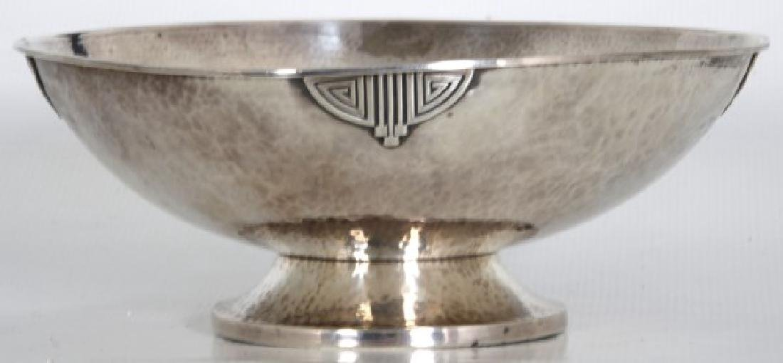 Wallace Arts & Crafts Sterling Silver Footed Bowl - 3