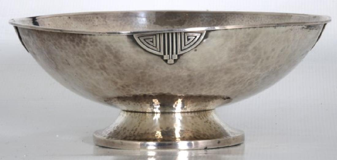 Wallace Arts & Crafts Sterling Silver Footed Bowl - 4
