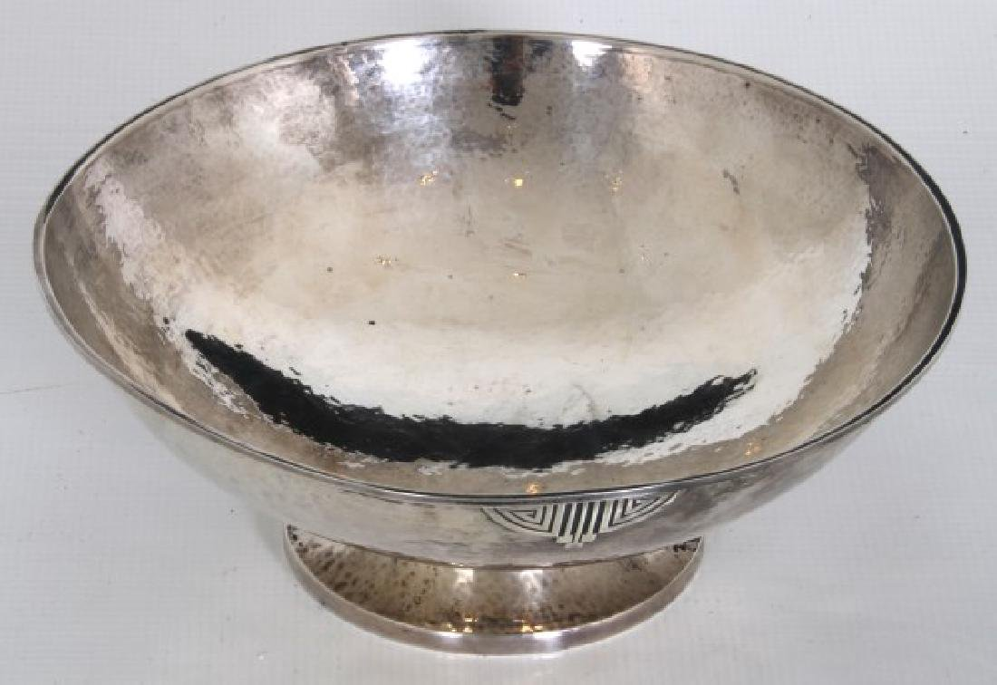 Wallace Arts & Crafts Sterling Silver Footed Bowl - 6