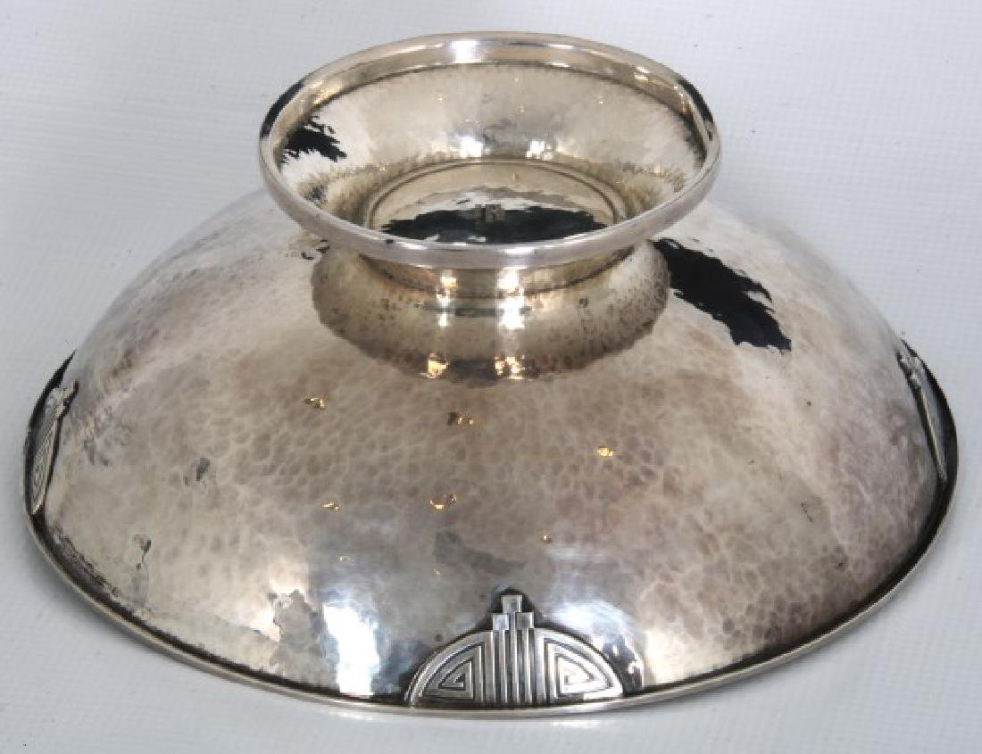 Wallace Arts & Crafts Sterling Silver Footed Bowl - 7