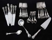35 Pcs Towle Sterling Silver Flatware  Old Colon