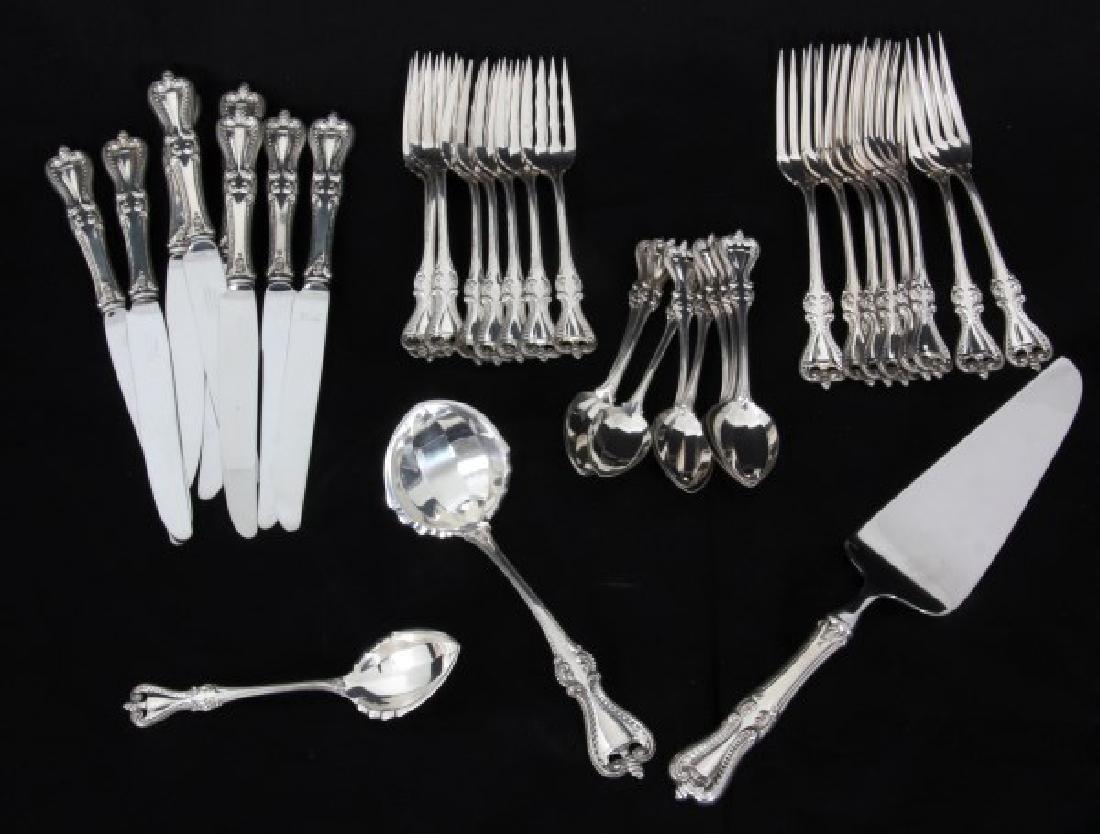 35 Pcs. Towle Sterling Silver Flatware – Old Colon