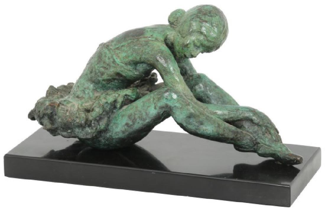 Loewe Bronze Sculpture Of A Ballerina