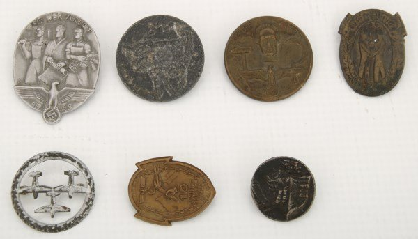 24 Pcs. German Lot With WWII Items - 5