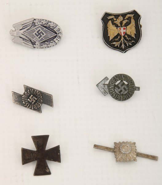 24 Pcs. German Lot With WWII Items - 6