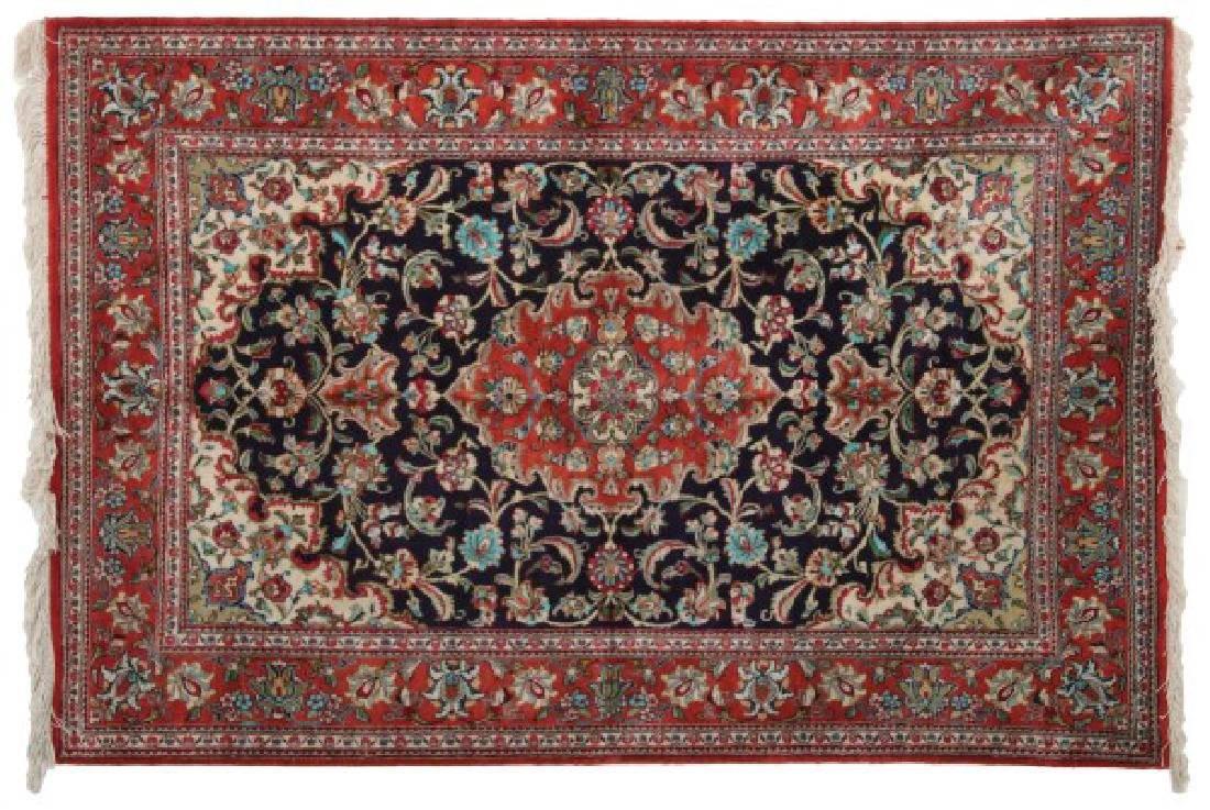 Beautiful Silk Oriental Rug