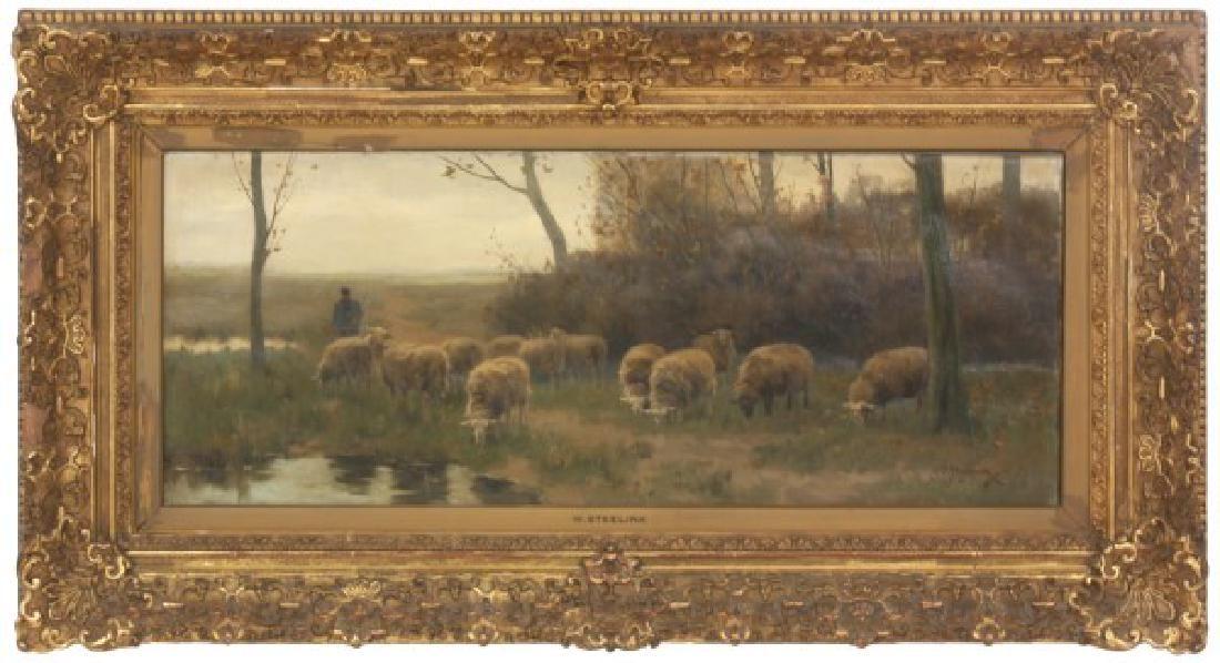 William Steelink (Dutch, c.1826-1913)
