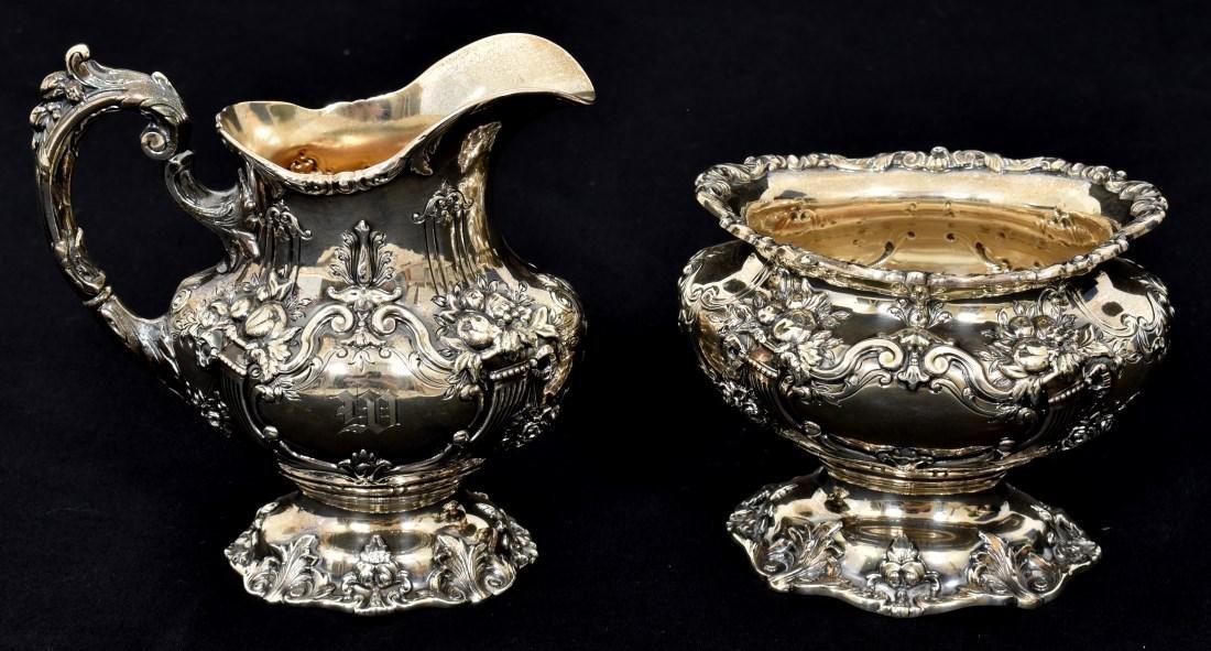 6 Pcs. Sterling Francis 1 Silver Tea Set - 3