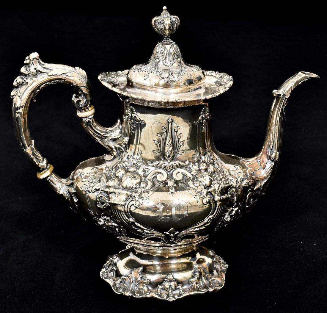 6 Pcs. Sterling Francis 1 Silver Tea Set - 5