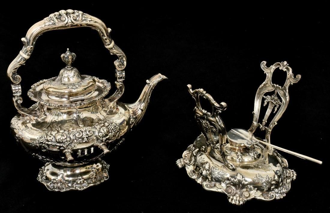 6 Pcs. Sterling Francis 1 Silver Tea Set - 9