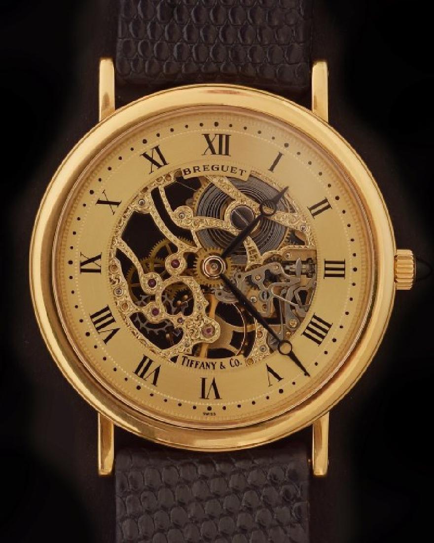 18K Breguet Skeletonized Wristwatch
