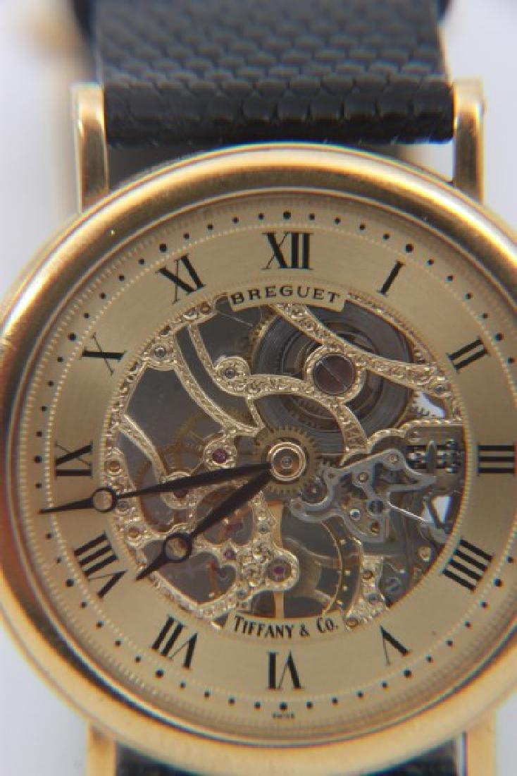 18K Breguet Skeletonized Wristwatch - 4