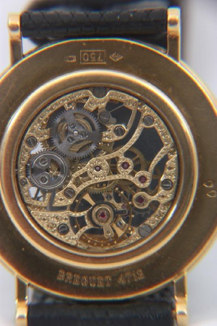 18K Breguet Skeletonized Wristwatch - 5