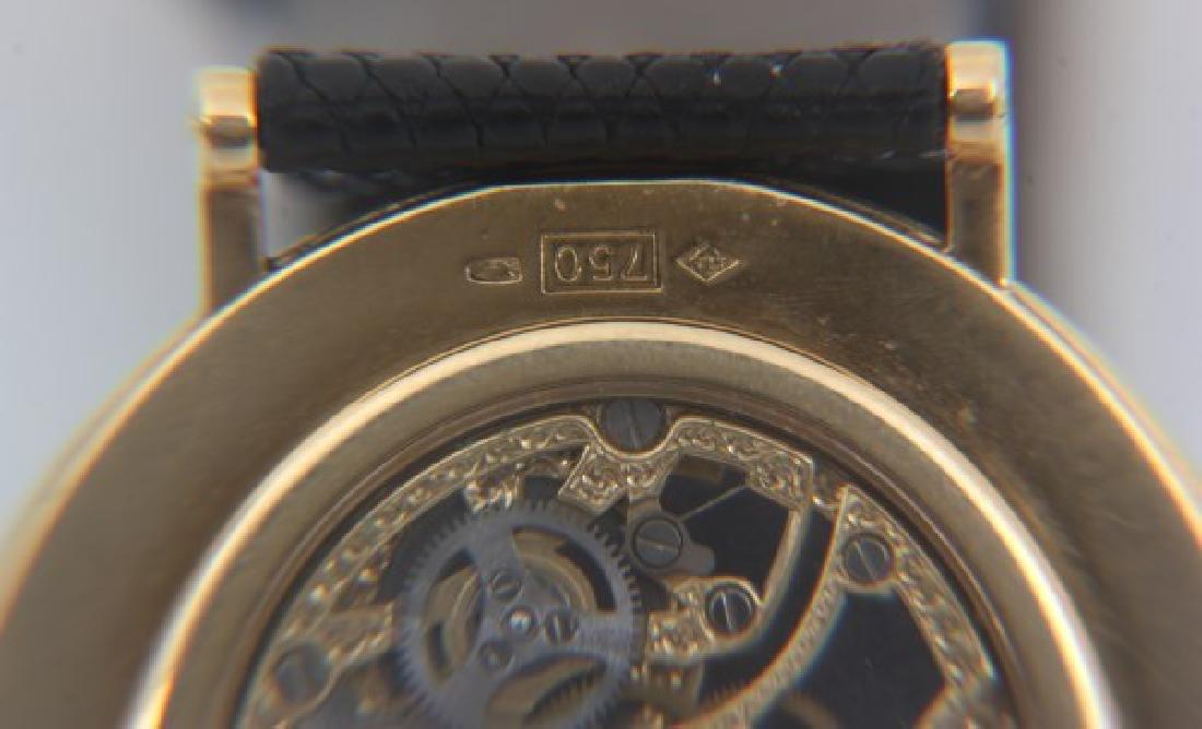 18K Breguet Skeletonized Wristwatch - 7