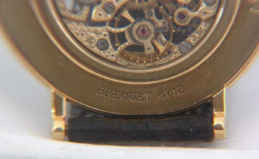 18K Breguet Skeletonized Wristwatch - 9