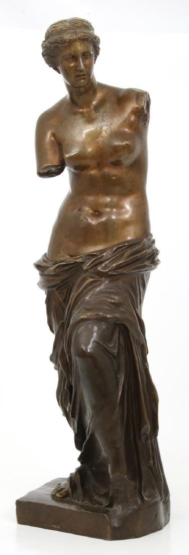 Bronze Figural Venus de Milo Sculpture - 2