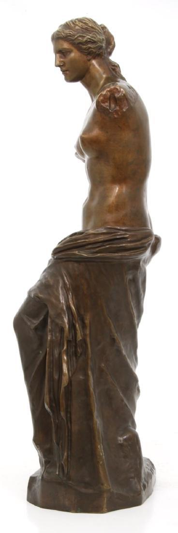 Bronze Figural Venus de Milo Sculpture - 3