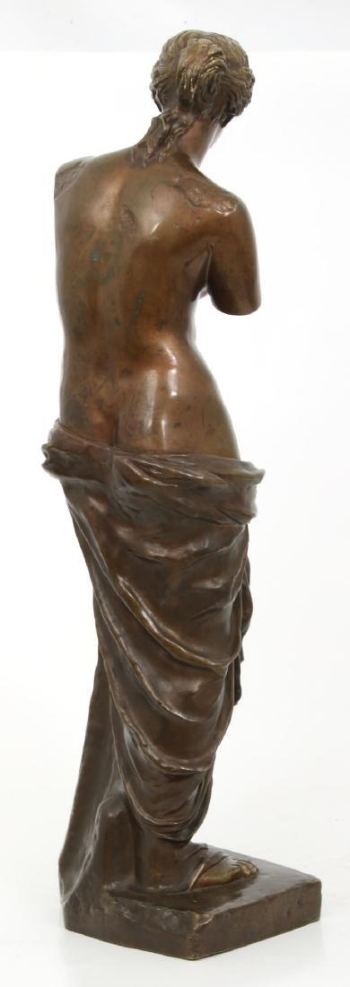 Bronze Figural Venus de Milo Sculpture - 4