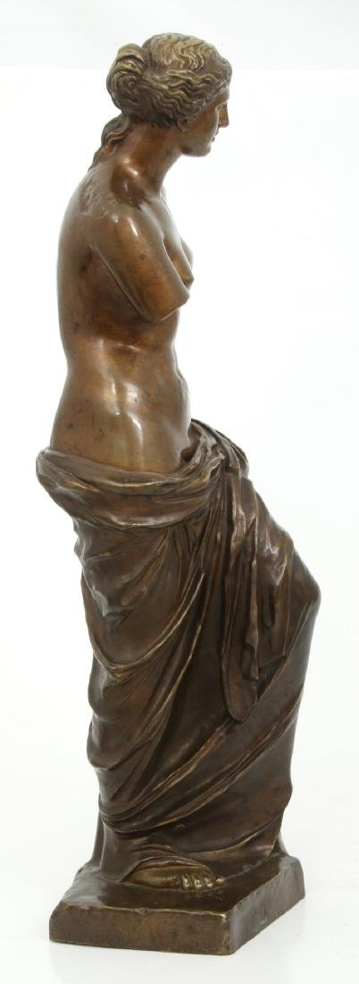 Bronze Figural Venus de Milo Sculpture - 7