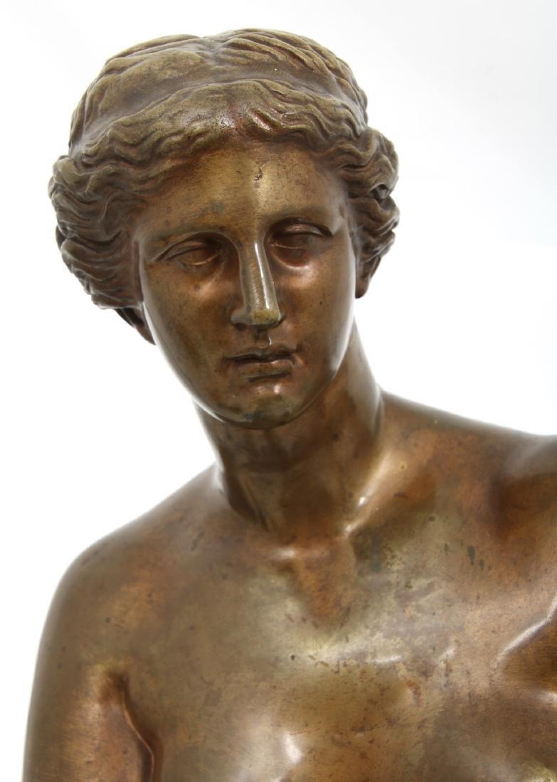 Bronze Figural Venus de Milo Sculpture - 8
