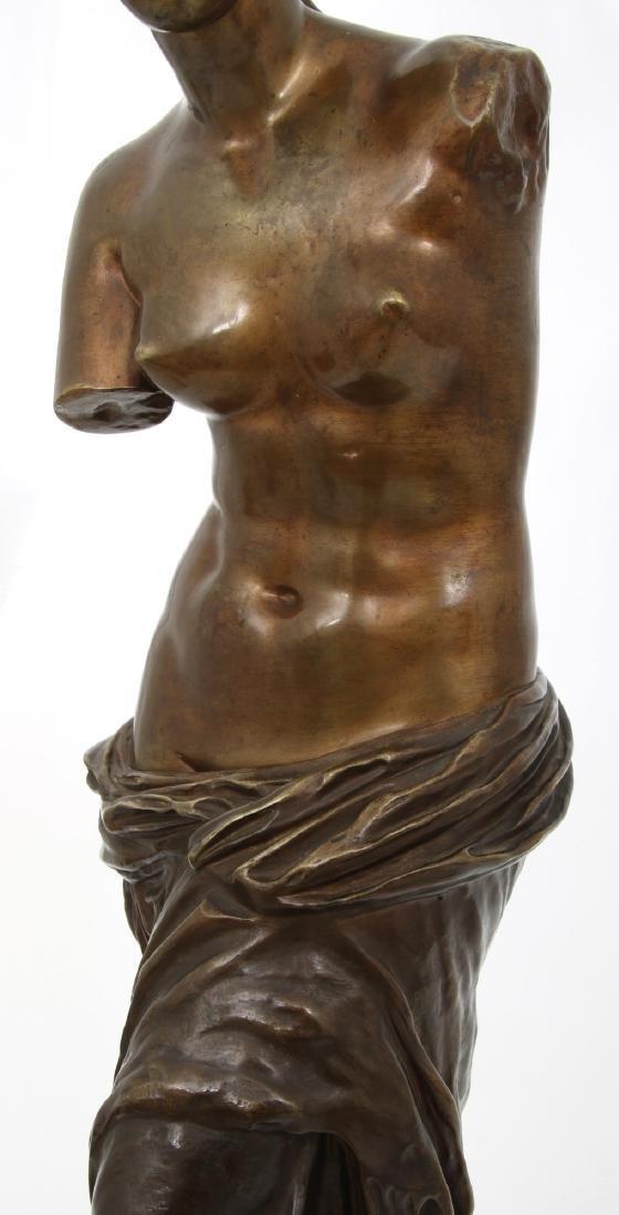 Bronze Figural Venus de Milo Sculpture - 9