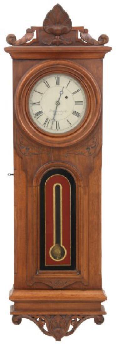 E. Howard No. 42 Wall Hanging Regulator Clock