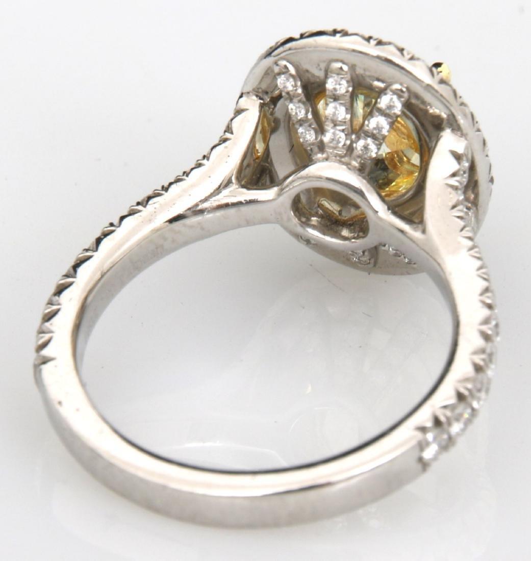 Tiffany & Co. 1.74 Carat Yellow Diamond Ring - 7