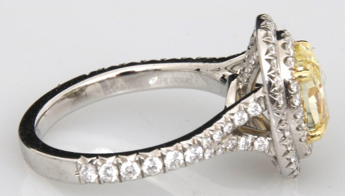 Tiffany & Co. 1.74 Carat Yellow Diamond Ring - 8