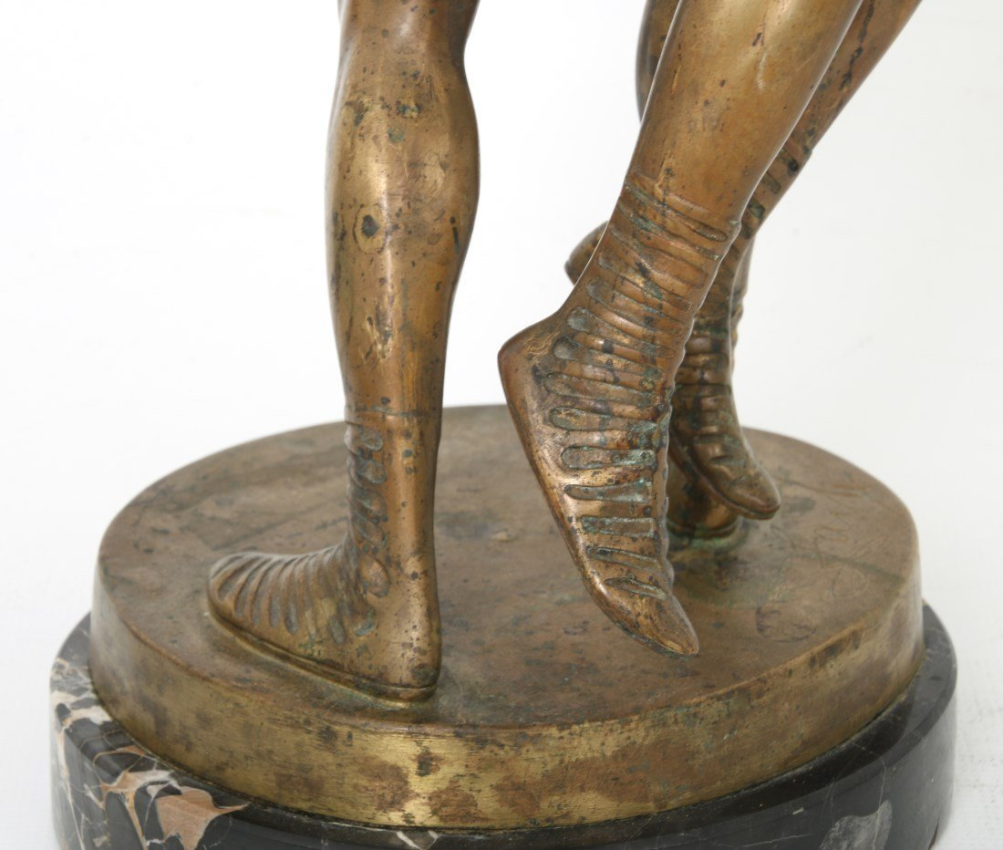 "Bruno Zach Bronze ""Wrestlers"" - 5"