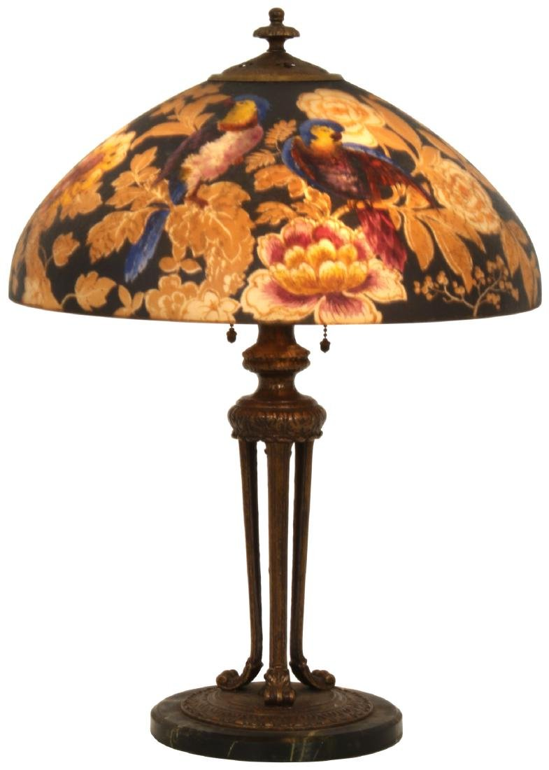 18 in. Handel Reverse Painted Table Lamp