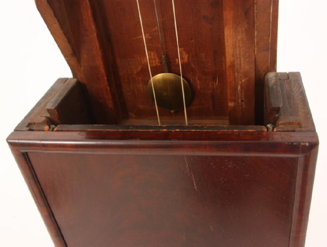 19th Century Massachusetts Mahogany Shelf Clock - 10