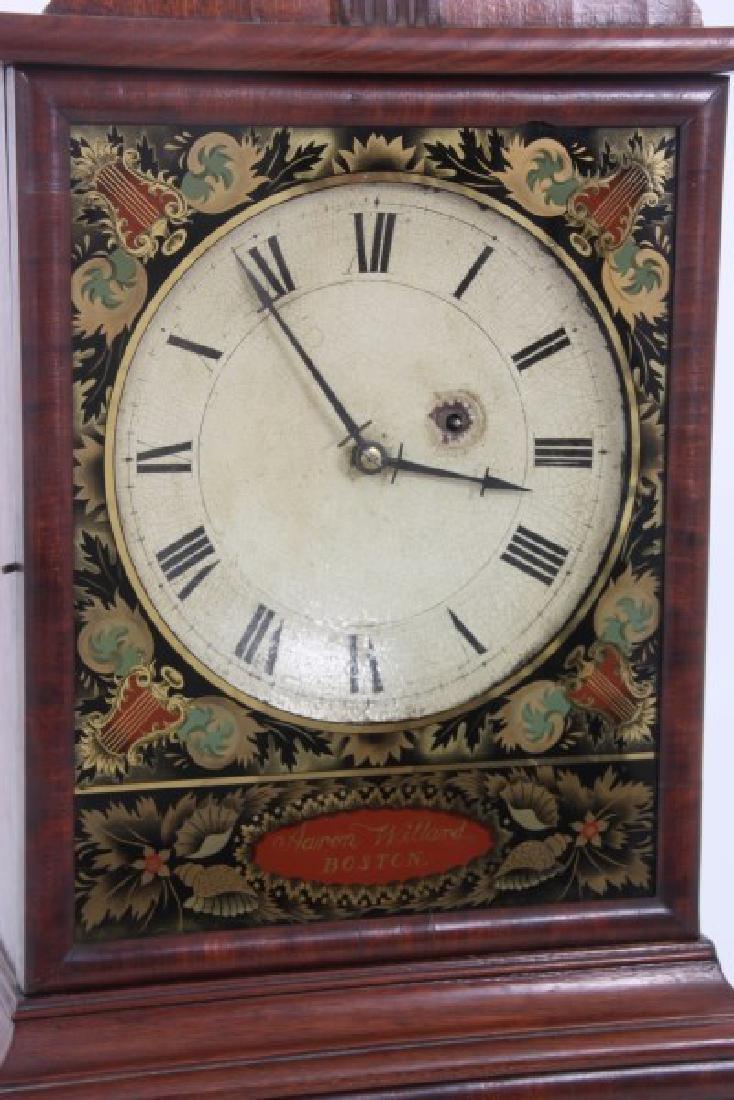 19th Century Massachusetts Mahogany Shelf Clock - 2