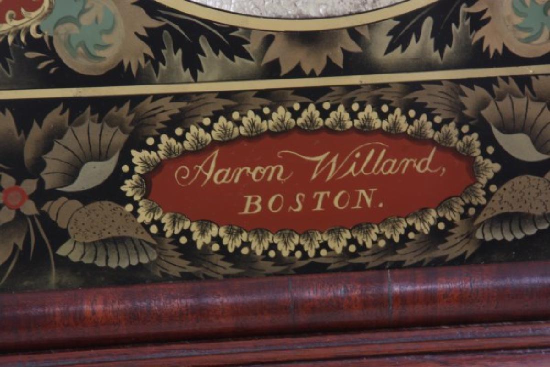 19th Century Massachusetts Mahogany Shelf Clock - 3