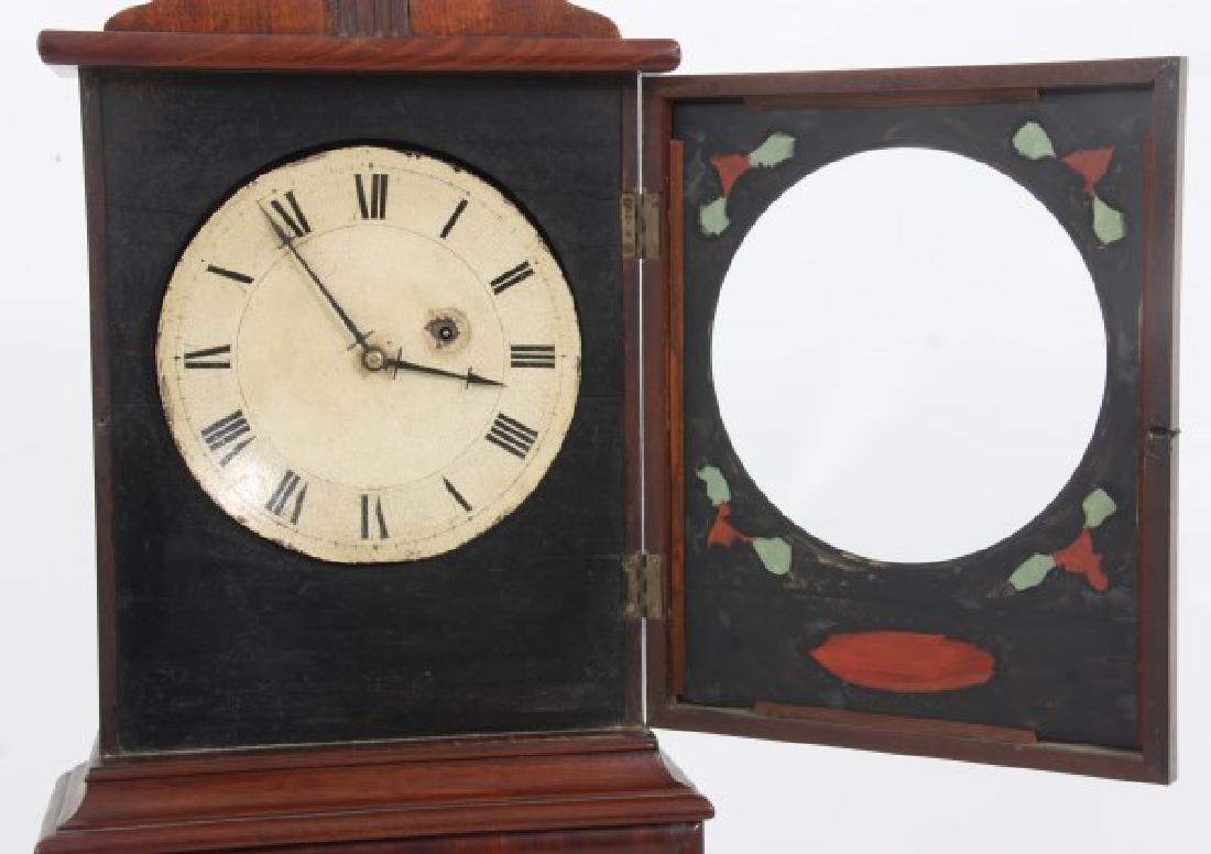 19th Century Massachusetts Mahogany Shelf Clock - 4