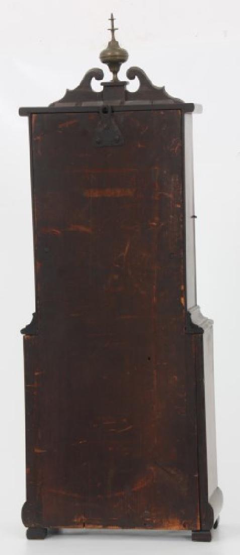 19th Century Massachusetts Mahogany Shelf Clock - 5