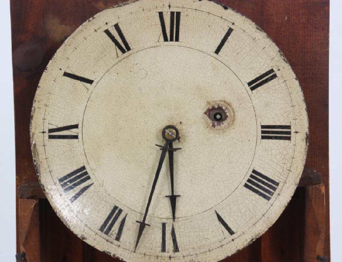 19th Century Massachusetts Mahogany Shelf Clock - 6