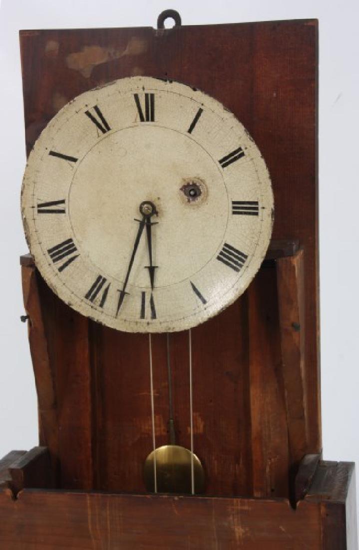 19th Century Massachusetts Mahogany Shelf Clock - 7