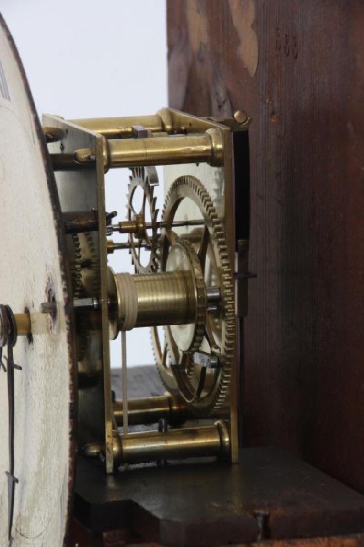 19th Century Massachusetts Mahogany Shelf Clock - 8