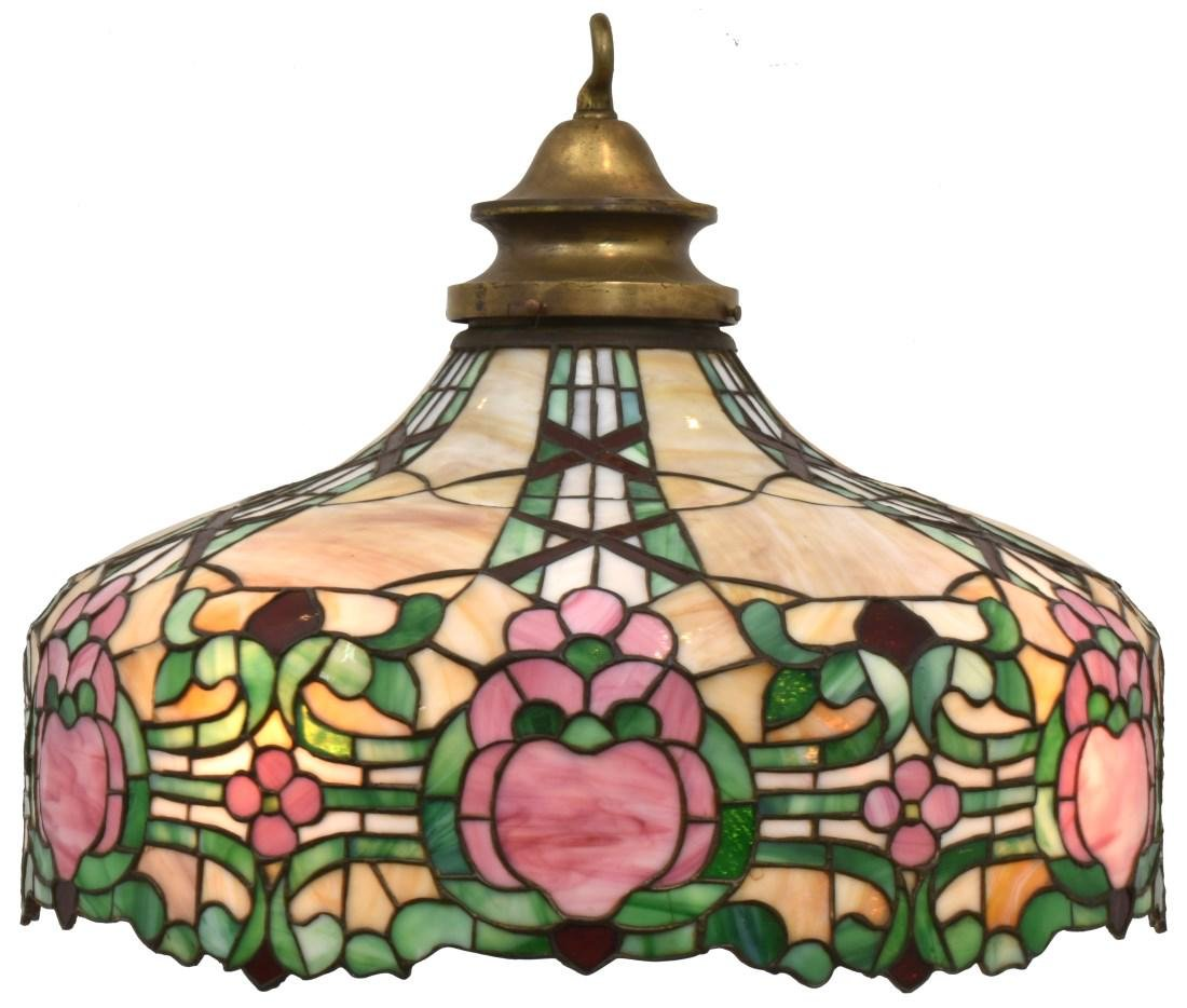 24 in. Leaded Hanging Dome