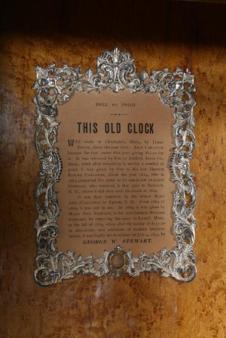 James Doutt Granfather Clock - 6
