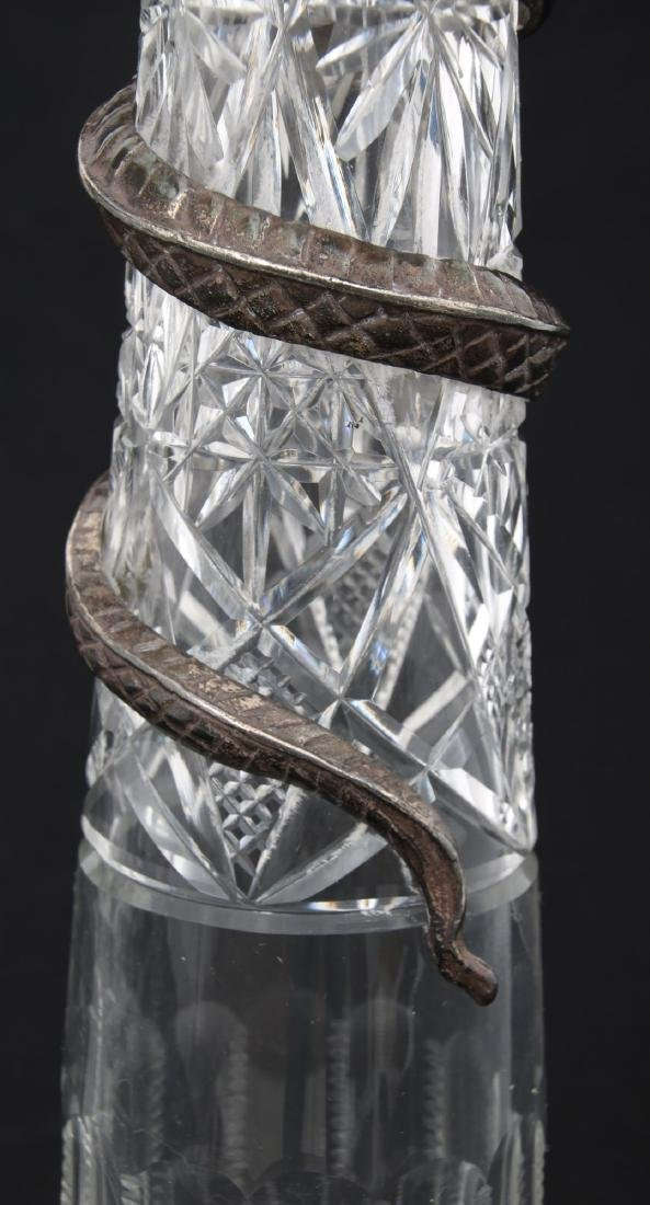 Pr. Russian Silver Mounted Pitchers - 4