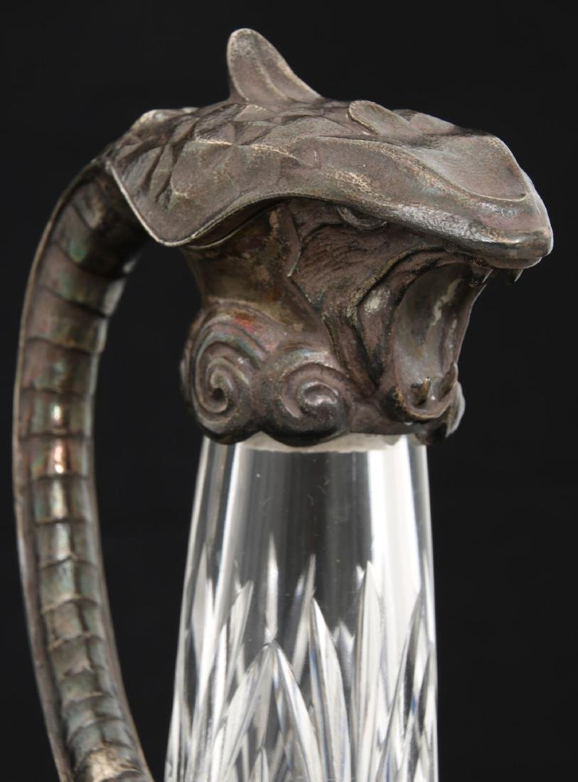 Pr. Russian Silver Mounted Pitchers - 5